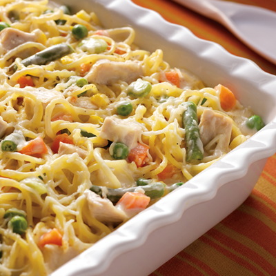 Take-Two Turkey Tetrazzini