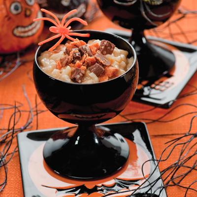 Creepy Crawly Rice Pudding