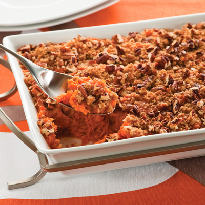 Sweet Potato & Pumpkin Casserole