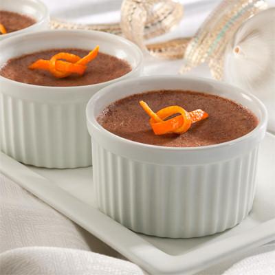 Holiday-Spiced Baked Custards