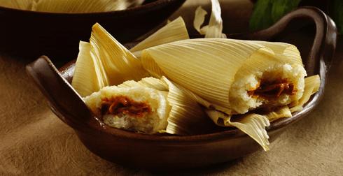 Tamales de epazote