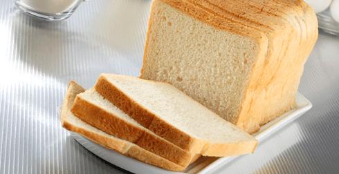 Pan blanco tipo caja