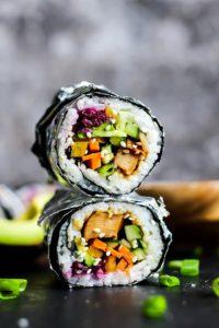 Vegan Teriyaki Sushi Burrito