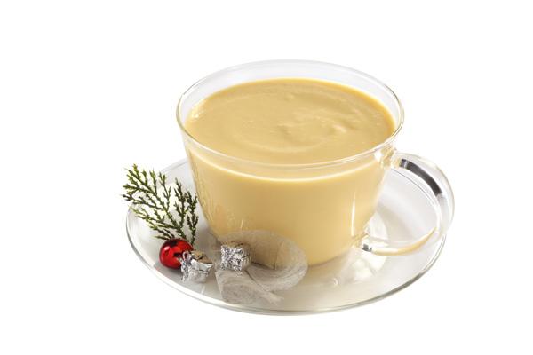 Crema inglesa navideña