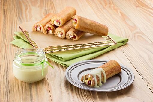 Rollitos de pan francés