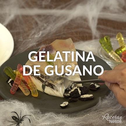 Gelatina de gusanos