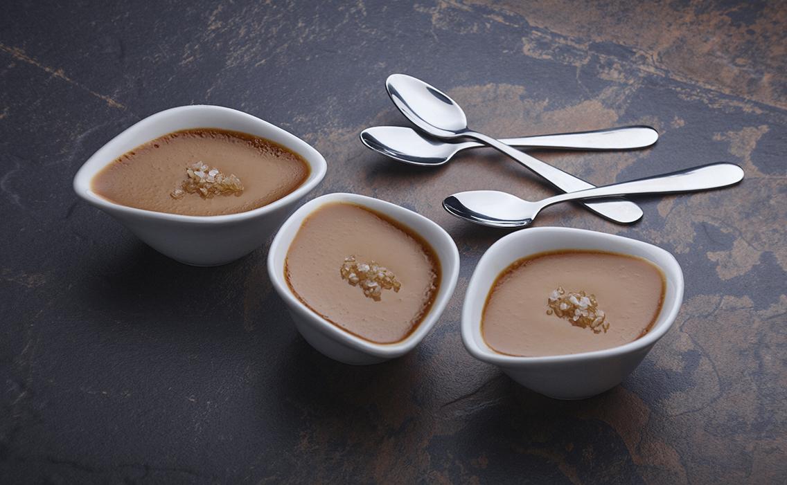 Salted Caramel Pots De Crème
