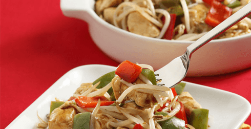 Tepanyaki reducido en grasa