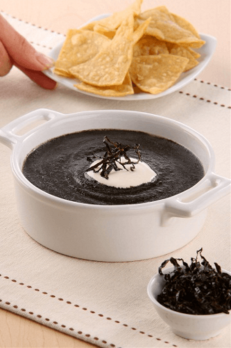 Sopa de huitlacoche