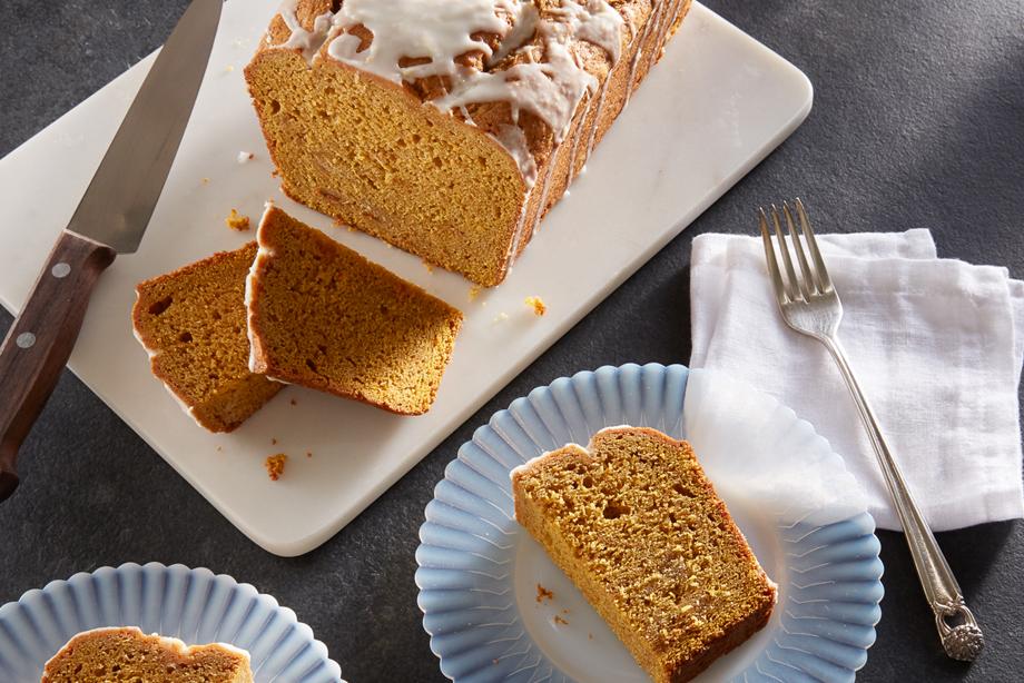 Pumpkin Ginger Pound Cake