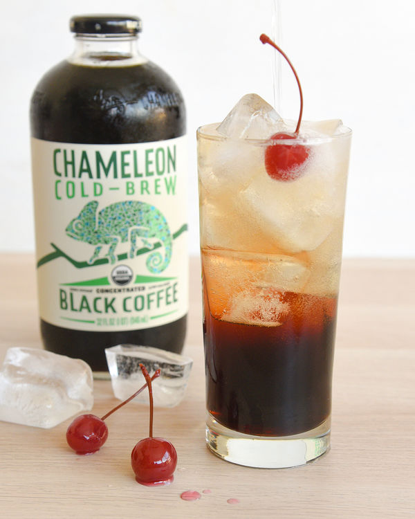 Cold Brew Bubbly Mocktail