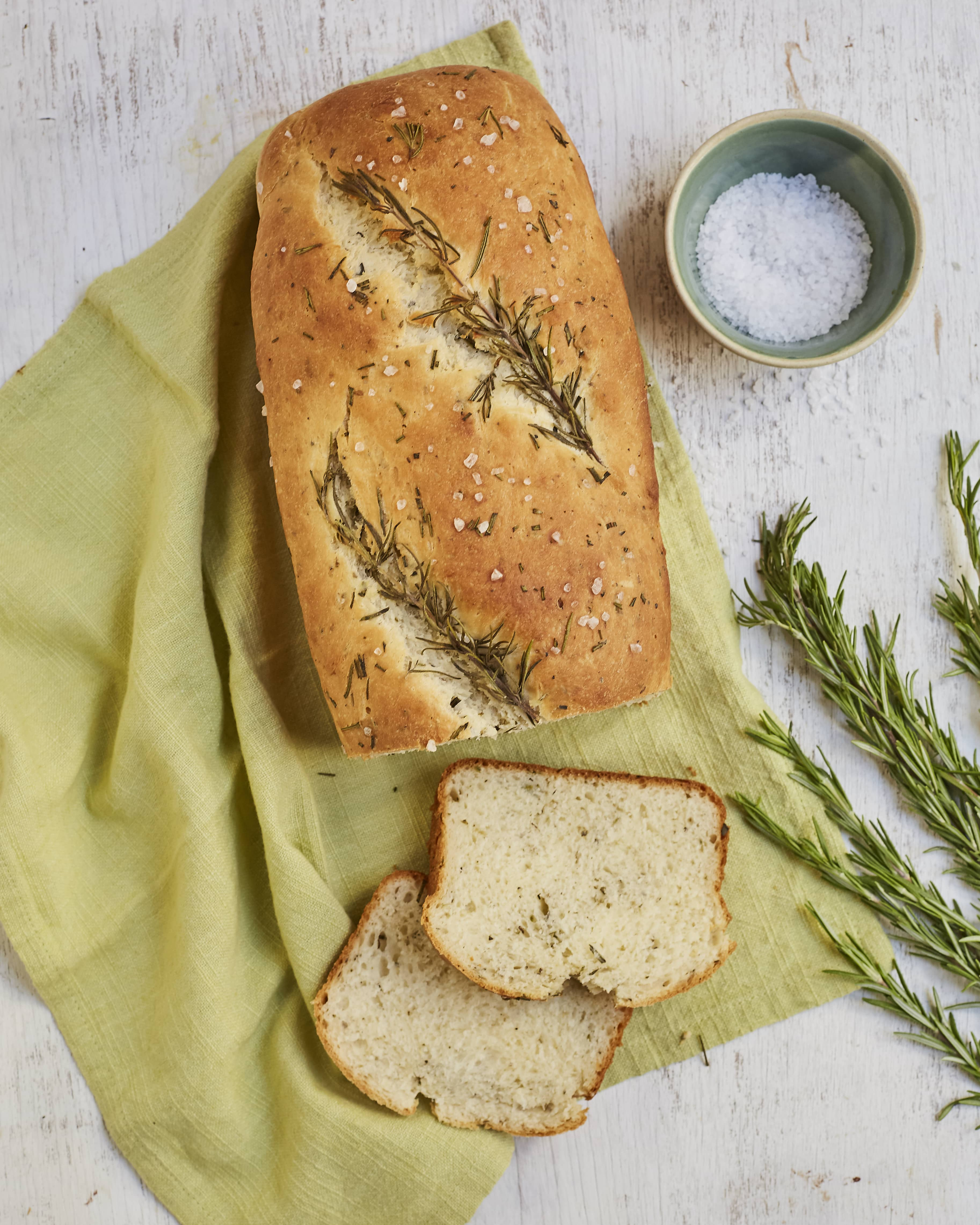 Pan con Hierbas