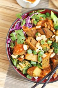 Curry Satay Buddha Bowl