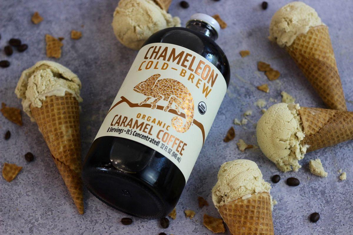 Caramel Cold Brew Ice Cream