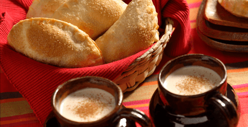 Empanaditas dulces de frijol