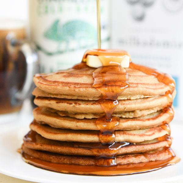 Cold Brew Pancakes with Milkadamia