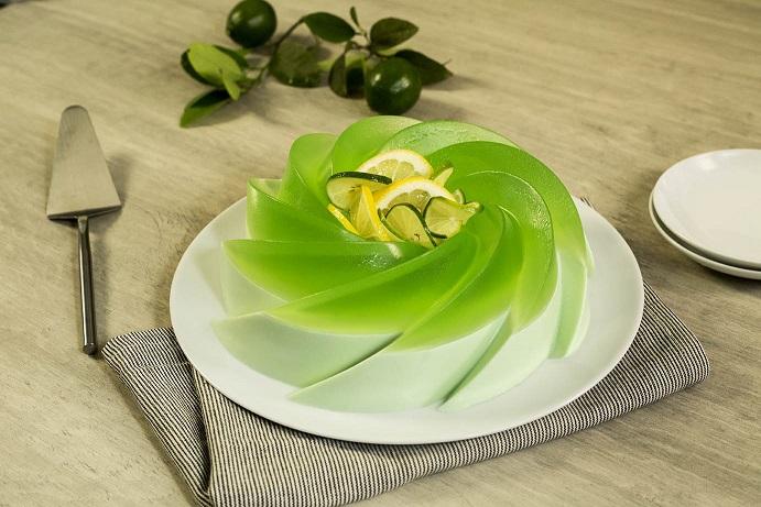Gelatina con refresco de limón