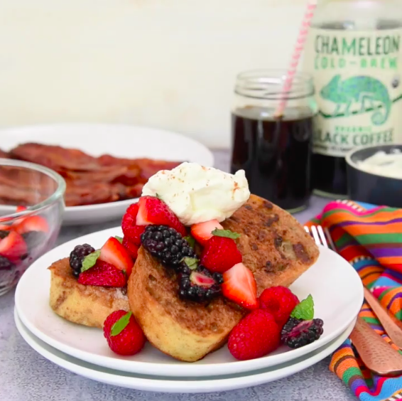Chameleon Cold-Brew French Toast