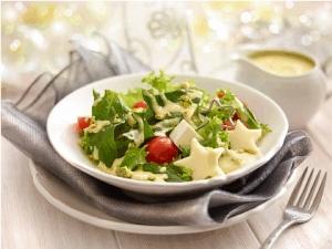 Ensalada con aderezo de pistache