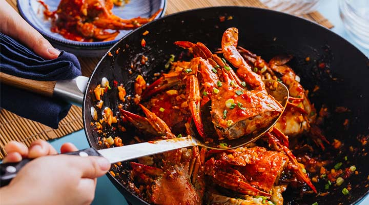 Sweet Chili Crab