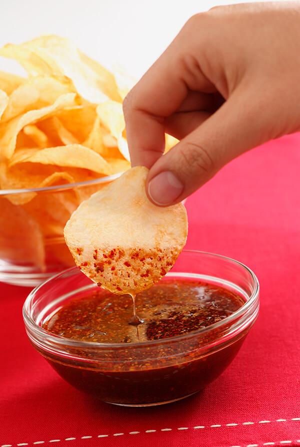 Salsa ahumada picante