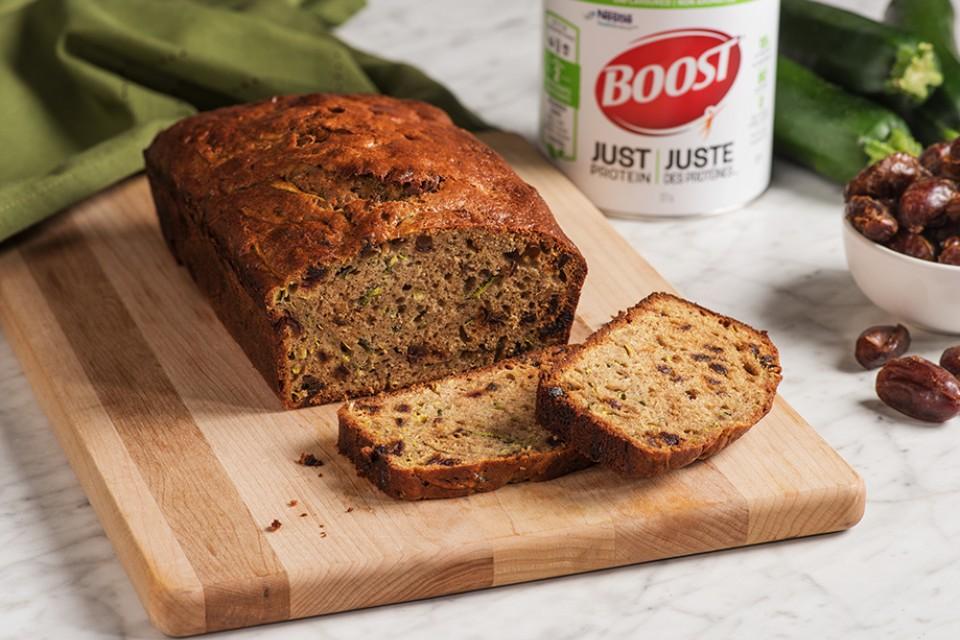 BOOST Just Protein Zucchini Bake