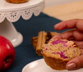 Mini Apple Berry Crumble Pies