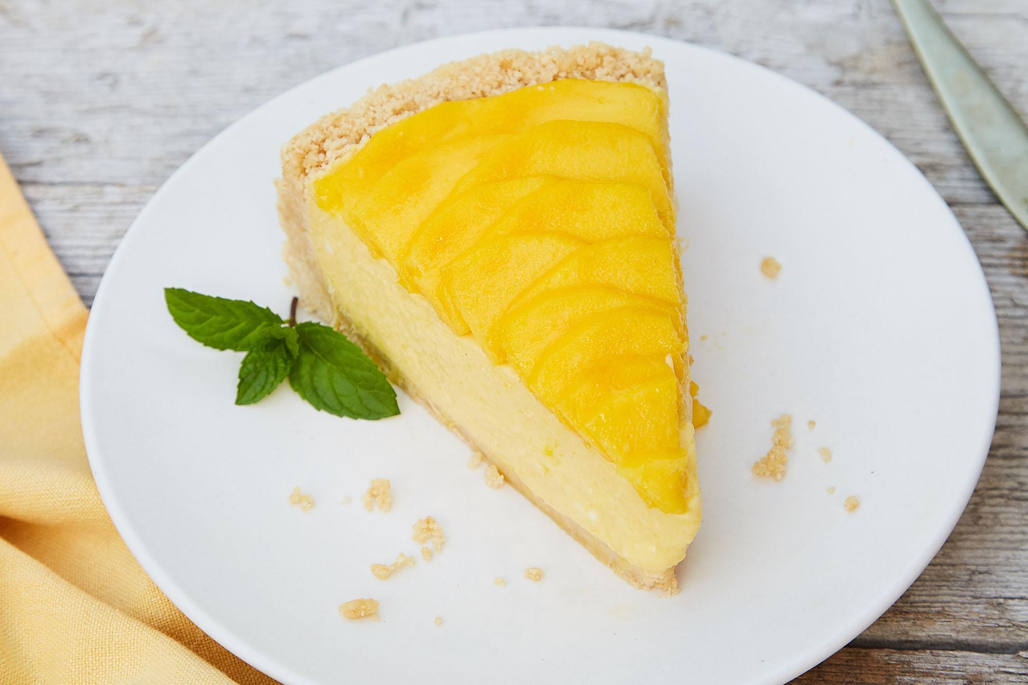 Receta de Torta de Mango