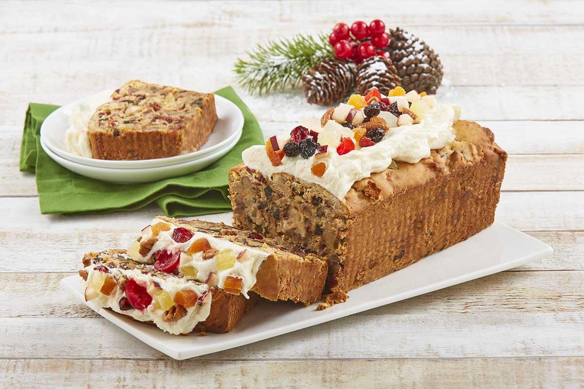 Fruit cake manzana canela