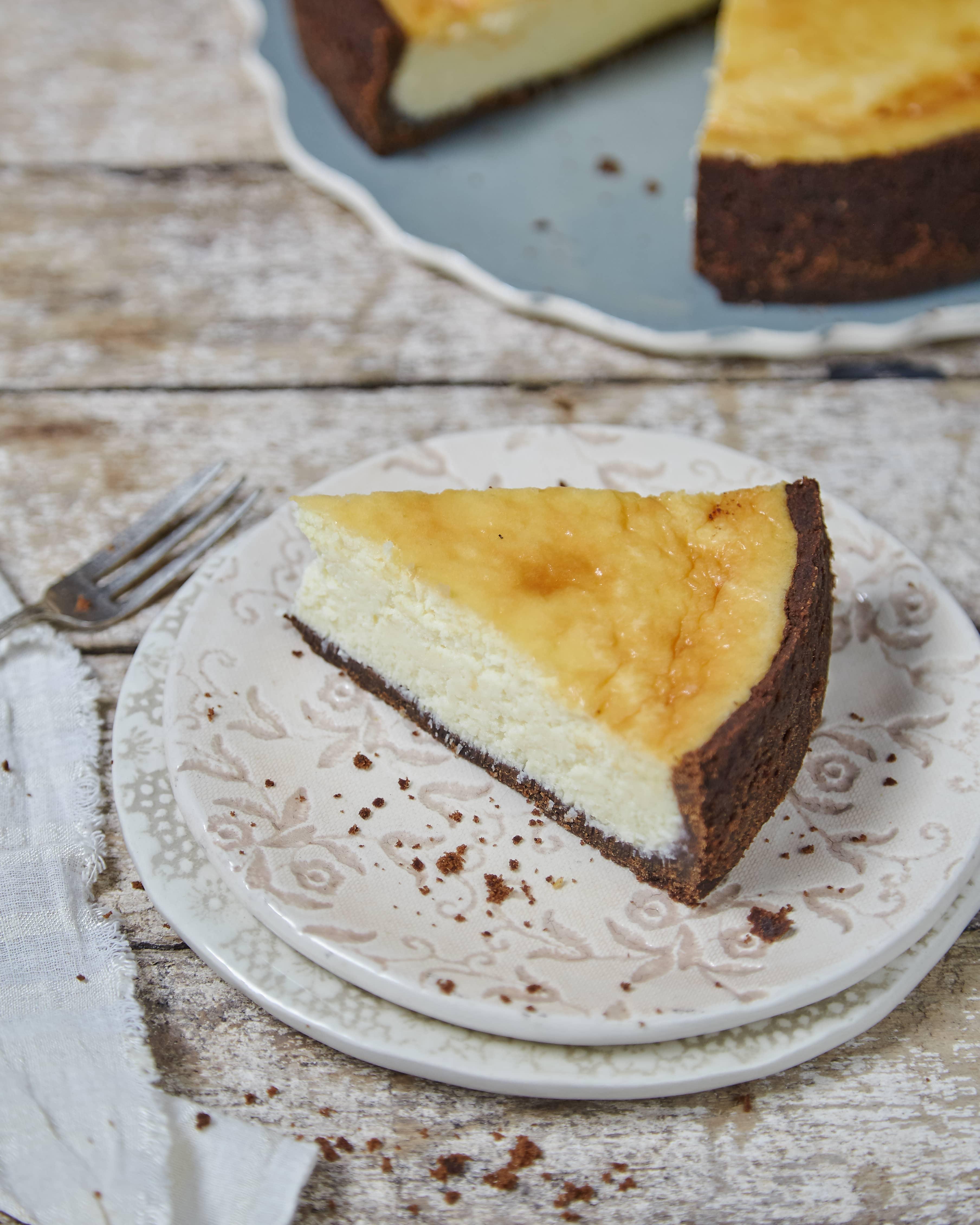 Cheesecake de coco y leche condensada
