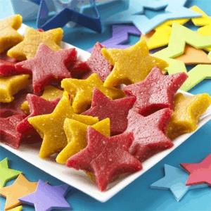 Estrellas de mazapán