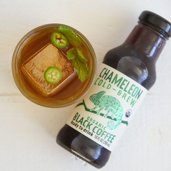 Spicy Chameleon Cold-Brew Cocktail