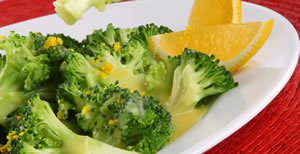 Brócoli a la Naranja
