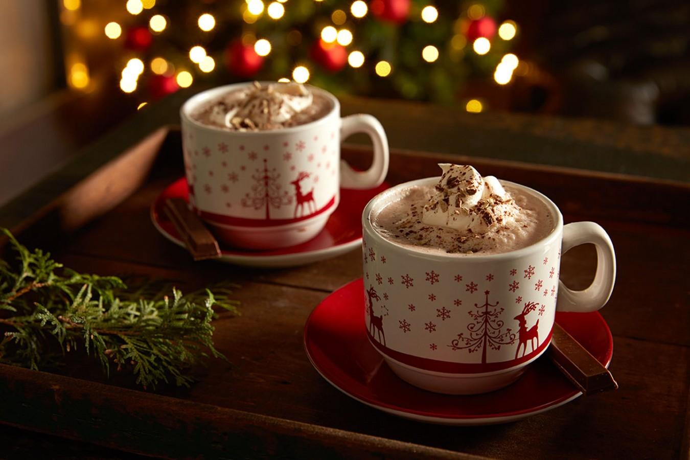 KIT KAT Spiked Hot Chocolate