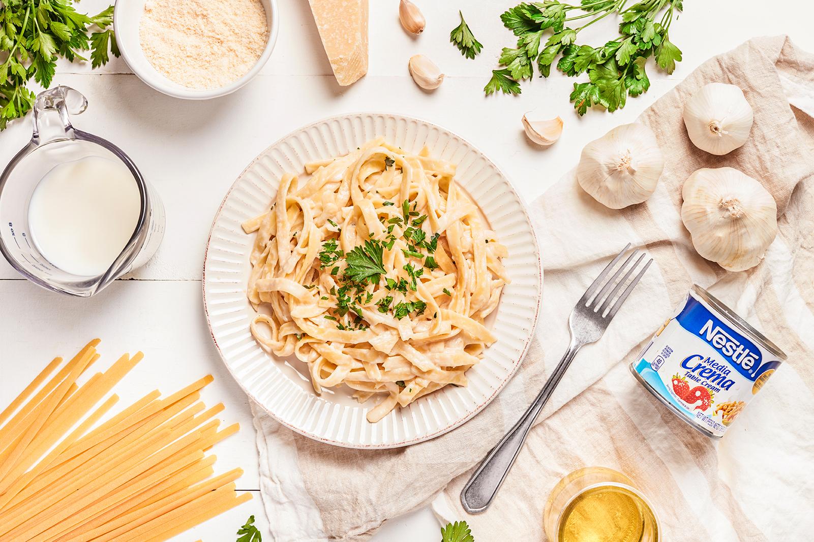 Creamy Alfredo Pasta