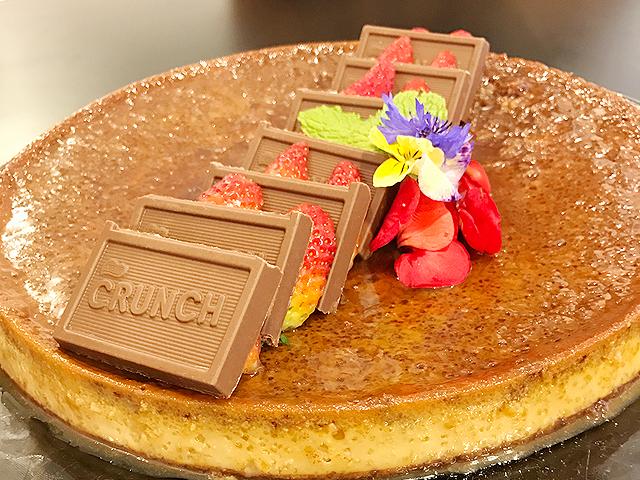Flan de Chocolate CRUNCH®