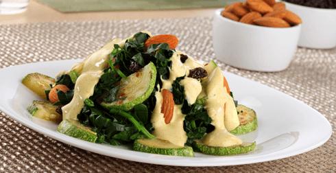 Espinacas al Curry