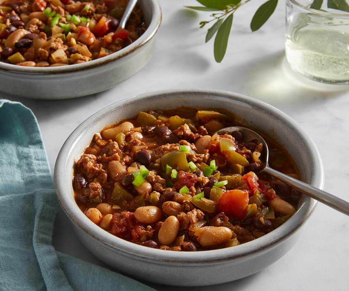 Slow Cooker Turkey Chili image