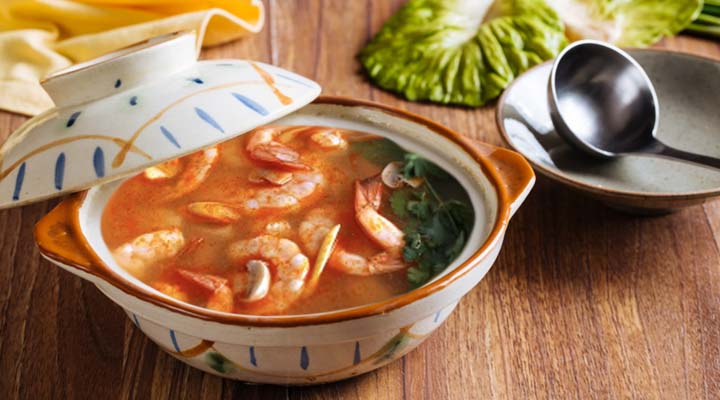 Shrimp Tom Yum-Style
