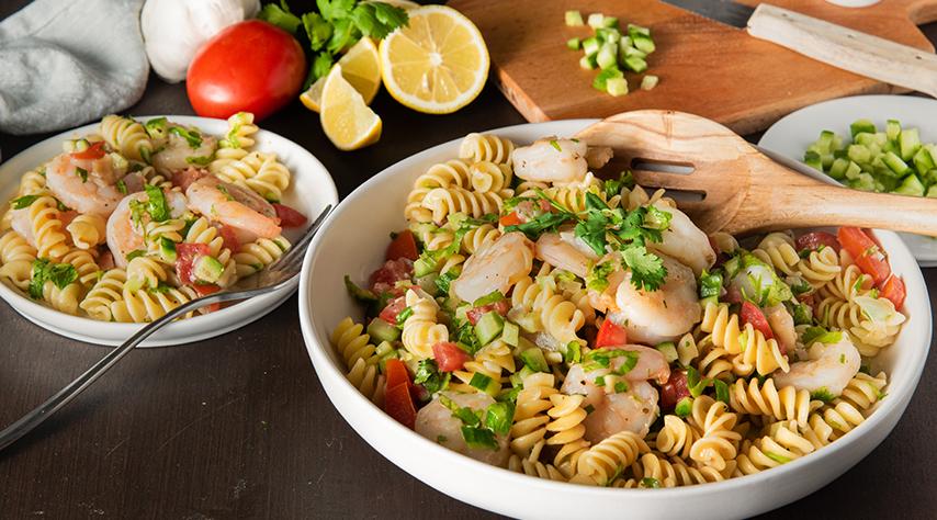 Fresh Shrimp Pasta