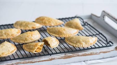 Empanadas cremosas de calabaza