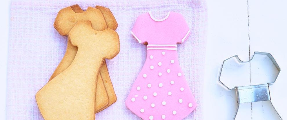 Receta de cookies con glasé