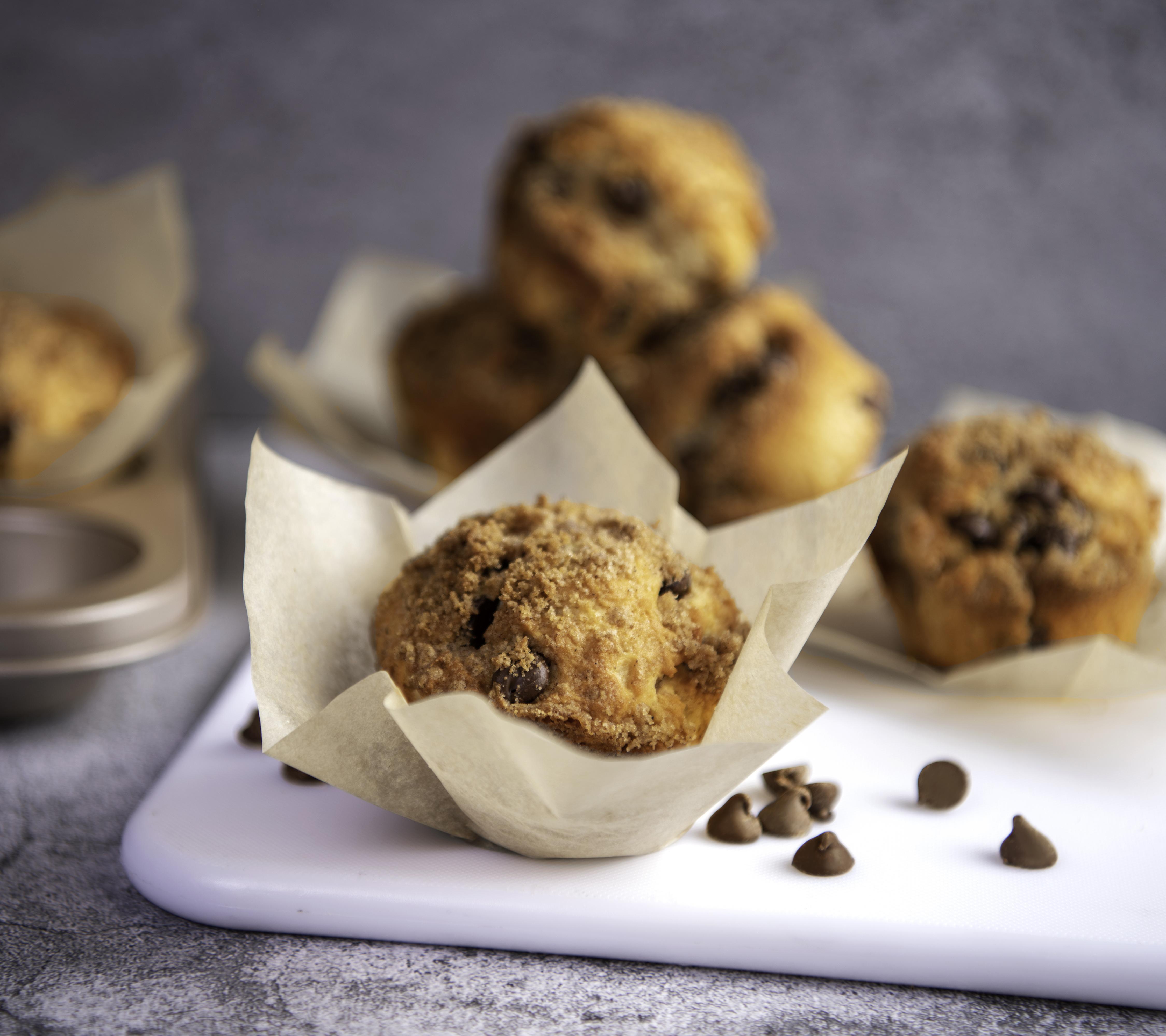 Chocolate Coffee Cake Muffins