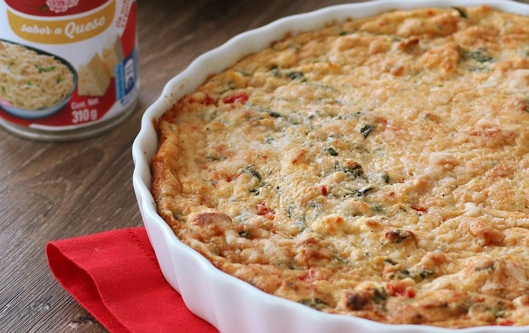 Tarta de Espinaca a la Italina