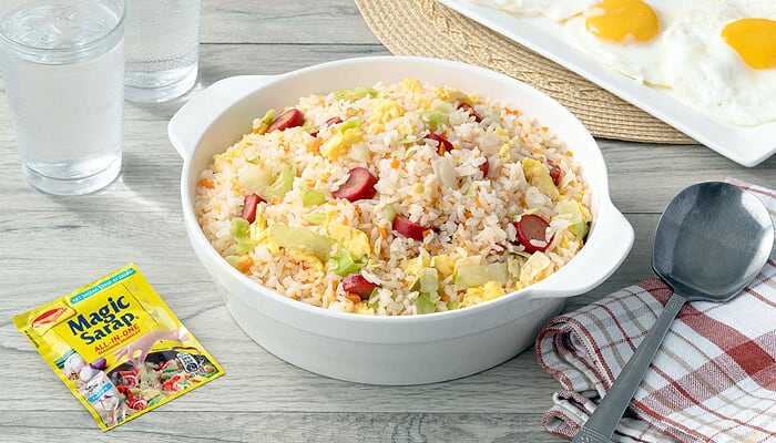 All-in-One Hotdog Fried Rice