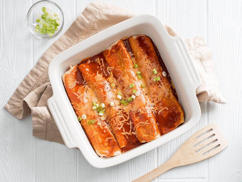 Creamy Chicken Enchiladas image
