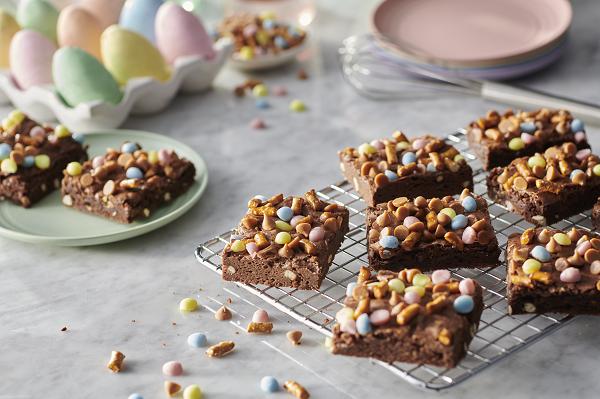 Easter Basket Brownies