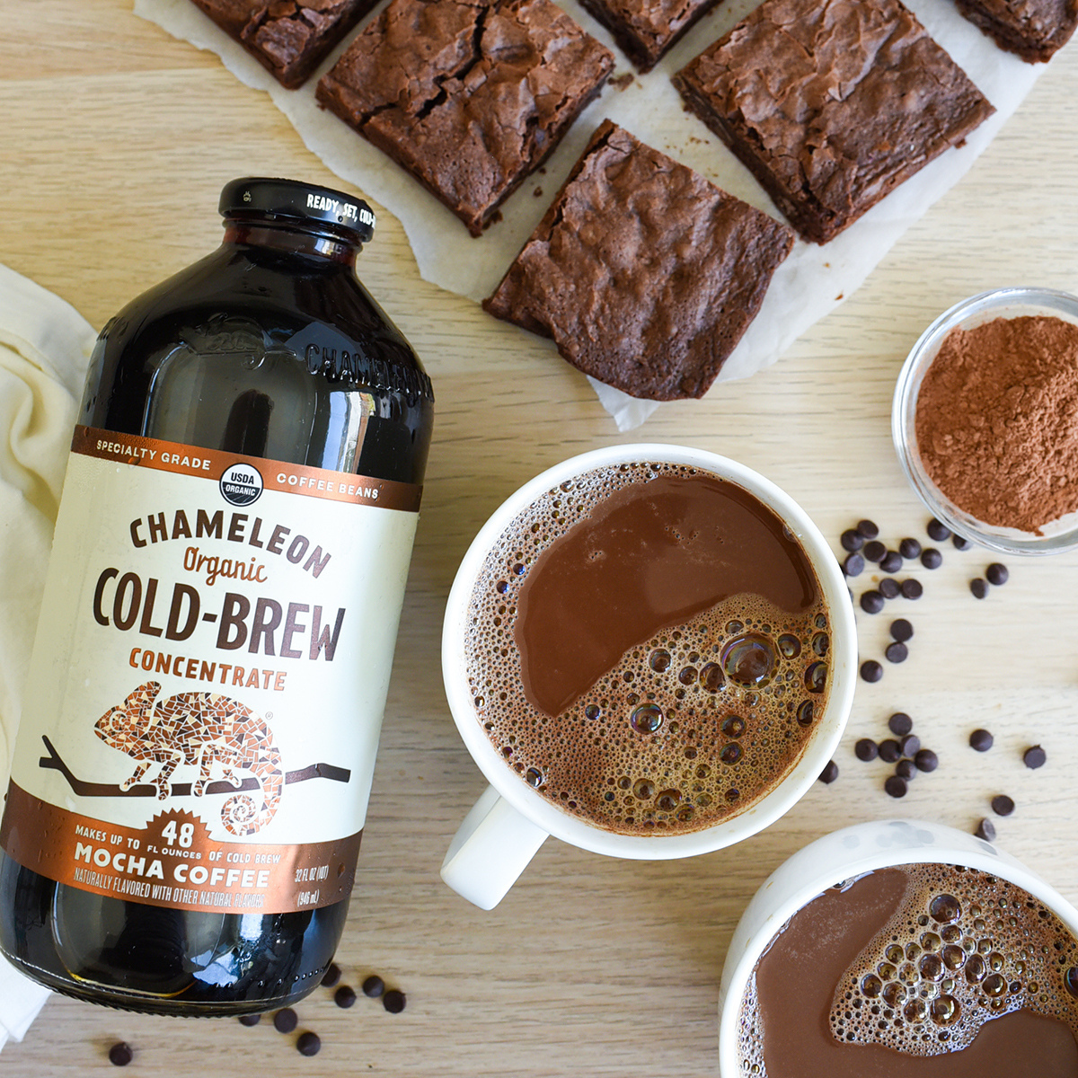 Triple Chocolate Brownie Cold Brew Latte