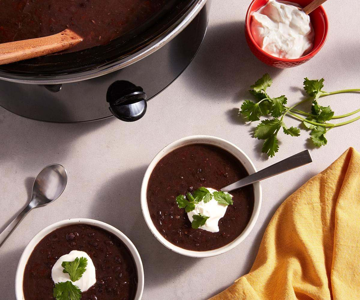Slow Cooker Black Bean Soup image