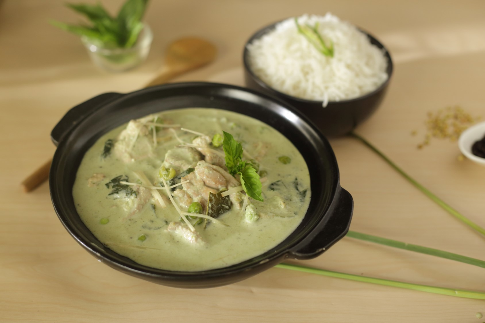 Thai Green Curry (Chicken)